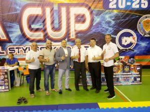 Руководитель ФКССО стал призером кубка мира по боевым единоборствам